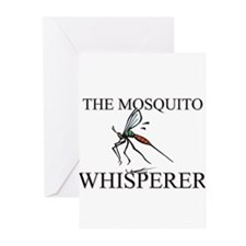 The Mosquito Whisperer Greeting Cards (Pk of 10)