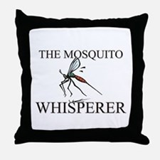 The Mosquito Whisperer Throw Pillow