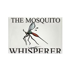 The Mosquito Whisperer Rectangle Magnet
