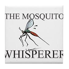 The Mosquito Whisperer Tile Coaster