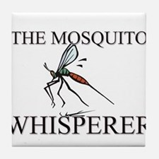 The Mosquito Whisperer Tile Coaster