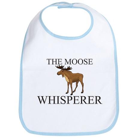 The Moose Whisperer Bib