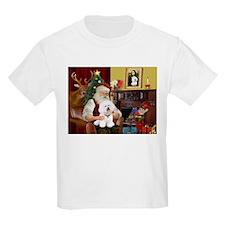 Santa's Bichon Frise T-Shirt