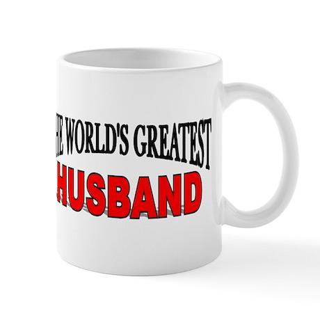 """The World's Greatest Husband Mug"