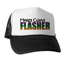 Mardi Gras Flasher Trucker Hat