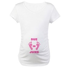Due In June (pink feet/belly) Shirt