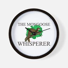 The Mongoose Whisperer Wall Clock