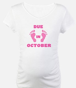 Due In October (pink feet/top) Shirt