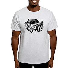 V10 Black T-Shirt