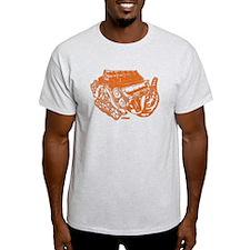 V10 Orange T-Shirt