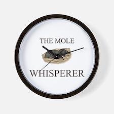 The Mole Whisperer Wall Clock