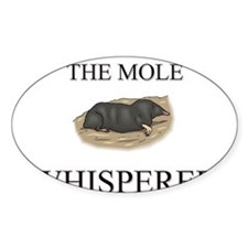 The Mole Whisperer Oval Decal