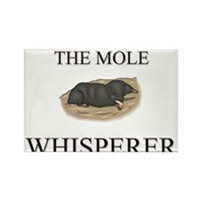 The Mole Whisperer Rectangle Magnet