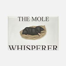 The Mole Whisperer Rectangle Magnet