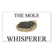 The Mole Whisperer Rectangle Decal