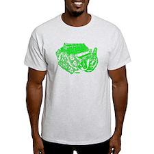 V10 Green T-Shirt