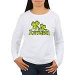 Irish Shamrocks Women's Long Sleeve T-Shirt