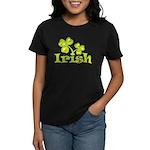 Irish Shamrocks Women's Dark T-Shirt