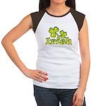 Irish Shamrocks Women's Cap Sleeve T-Shirt