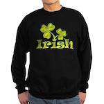 Irish Shamrocks Sweatshirt (dark)