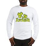 Irish Shamrocks Long Sleeve T-Shirt