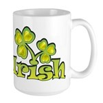 Irish Shamrocks Large Mug