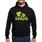Irish Shamrocks Hoodie (dark)