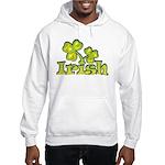 Irish Shamrocks Hooded Sweatshirt