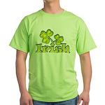 Irish Shamrocks Green T-Shirt