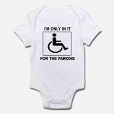 In It For The Parking Infant Bodysuit