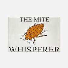 The Mite Whisperer Rectangle Magnet