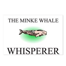 The Minke Whale Whisperer Postcards (Package of 8)