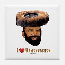 Pres. Obama Purim Tile Coaster
