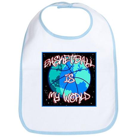 Basketball is My World Bib