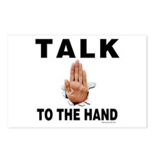Talk to the Hand Postcards (Package of 8)