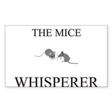 The Mice Whisperer Rectangle Decal