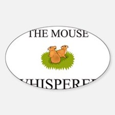 The Mouse Whisperer Oval Decal