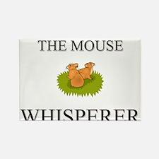 The Mouse Whisperer Rectangle Magnet