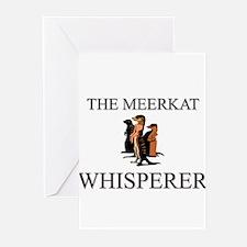 The Meerkat Whisperer Greeting Cards (Pk of 10)