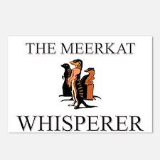 The Meerkat Whisperer Postcards (Package of 8)