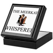 The Meerkat Whisperer Keepsake Box