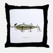 Vintage Lure 02 Throw Pillow