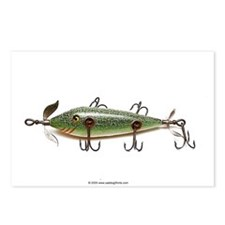 Vintage Lure 02 Postcards (Package of 8)