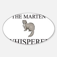 The Mayfly Whisperer Oval Decal