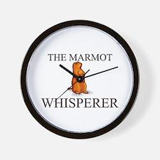 The Marmot Whisperer Wall Clock