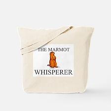 The Marmot Whisperer Tote Bag