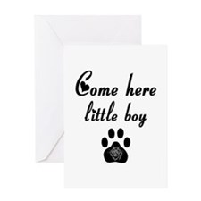 Cougar: Come Here Little Boy Greeting Card