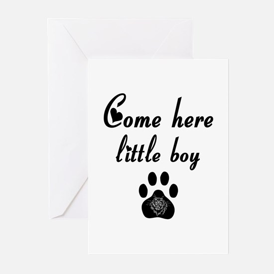 Cougar: Come Here Little Boy Greeting Cards (Pk of