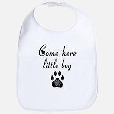 Cougar: Come Here Little Boy Bib