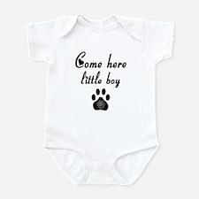 Cougar: Come Here Little Boy Infant Bodysuit